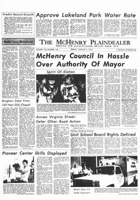 McHenry Plaindealer (McHenry, IL), 6 Aug 1976