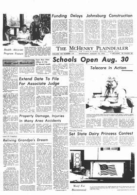 McHenry Plaindealer (McHenry, IL), 18 Aug 1976