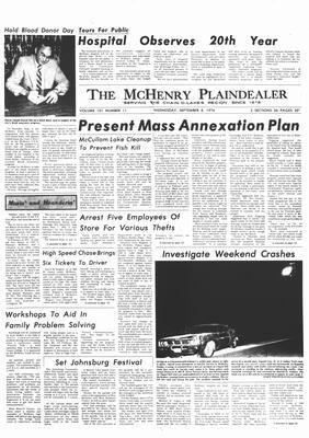 McHenry Plaindealer (McHenry, IL), 8 Sep 1976