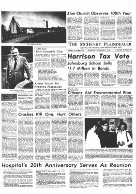 McHenry Plaindealer (McHenry, IL), 22 Sep 1976