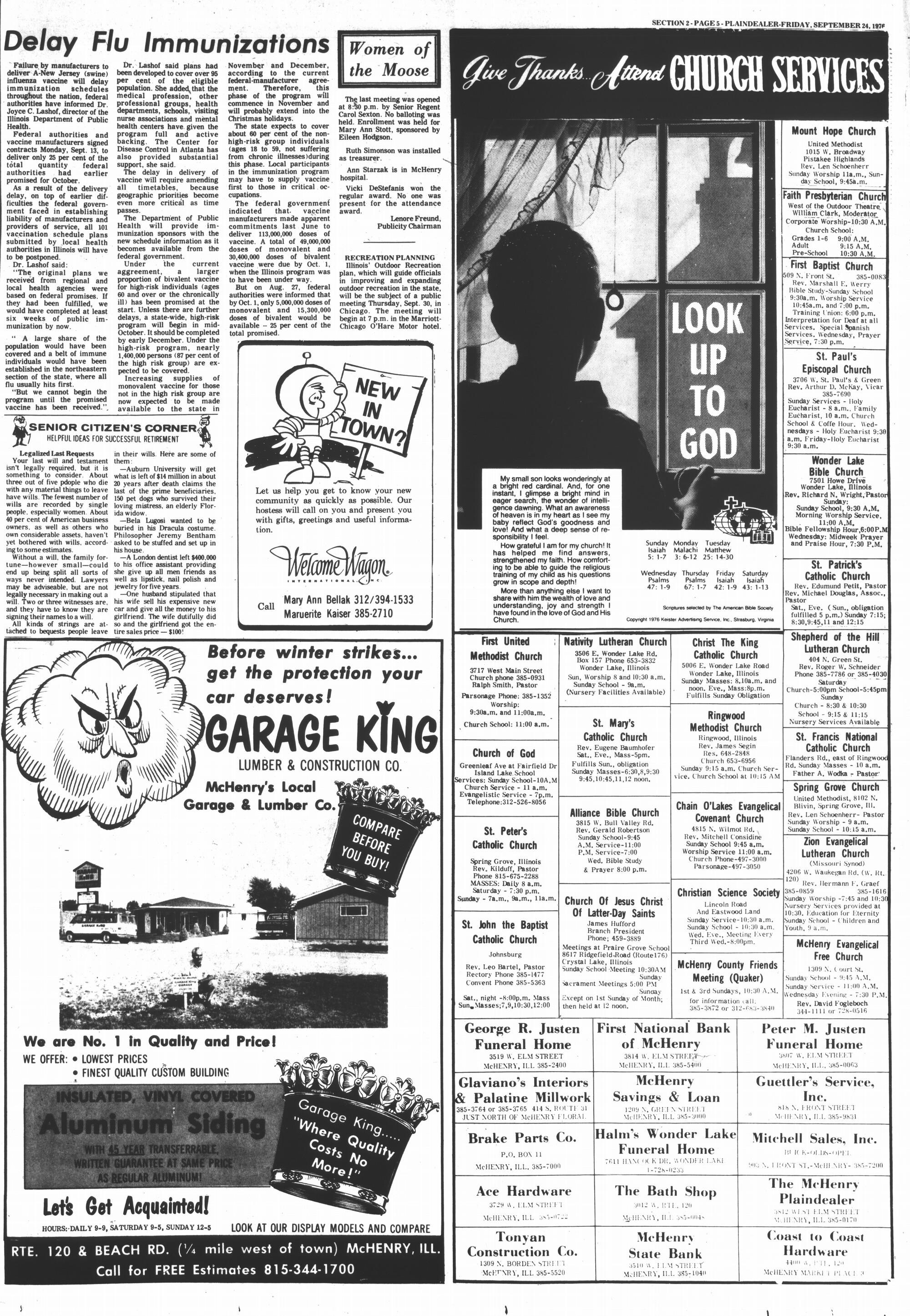 McHenry Plaindealer (McHenry, IL), 24 Sep 1976