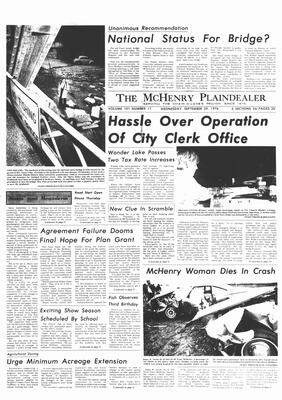 McHenry Plaindealer (McHenry, IL), 29 Sep 1976