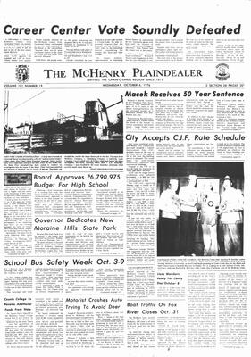 McHenry Plaindealer (McHenry, IL), 6 Oct 1976
