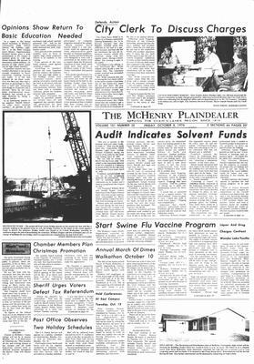 McHenry Plaindealer (McHenry, IL), 8 Oct 1976