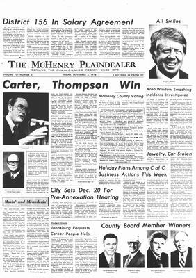 McHenry Plaindealer (McHenry, IL), 5 Nov 1976