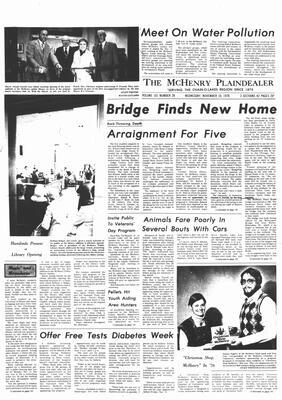 McHenry Plaindealer (McHenry, IL), 10 Nov 1976
