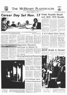 McHenry Plaindealer (McHenry, IL), 12 Nov 1976