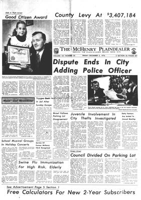 McHenry Plaindealer (McHenry, IL), 3 Dec 1976