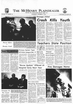 McHenry Plaindealer (McHenry, IL), 8 Dec 1976