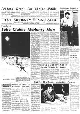 McHenry Plaindealer (McHenry, IL), 29 Dec 1976
