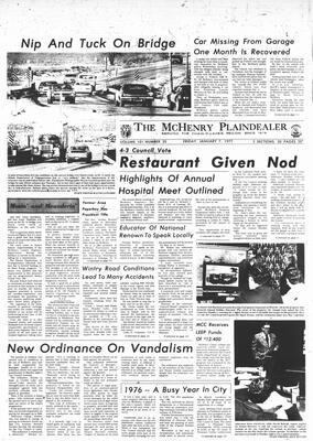 McHenry Plaindealer (McHenry, IL), 7 Jan 1977