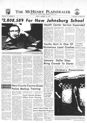 McHenry Plaindealer (McHenry, IL), 14 Jan 1977