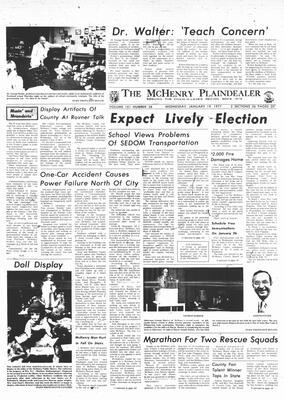 McHenry Plaindealer (McHenry, IL), 19 Jan 1977
