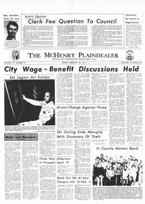 McHenry Plaindealer (McHenry, IL), 28 Jan 1977