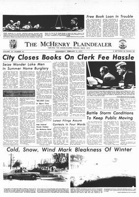 McHenry Plaindealer (McHenry, IL), 2 Feb 1977
