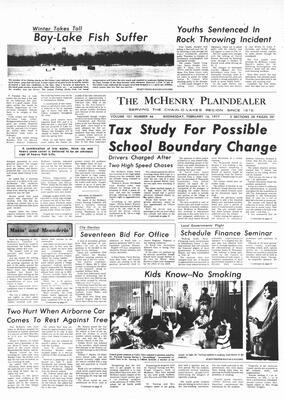 McHenry Plaindealer (McHenry, IL), 16 Feb 1977