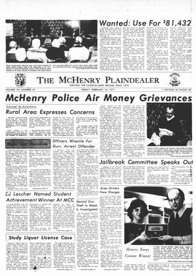 McHenry Plaindealer (McHenry, IL), 18 Feb 1977