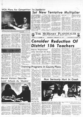 McHenry Plaindealer (McHenry, IL), 23 Feb 1977