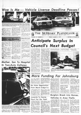 McHenry Plaindealer (McHenry, IL), 4 Mar 1977