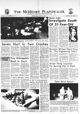 McHenry Plaindealer (McHenry, IL), 15 Jun 1977