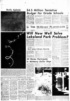 McHenry Plaindealer (McHenry, IL), 14 Jul 1978