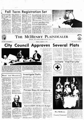 McHenry Plaindealer (McHenry, IL), 4 Aug 1978