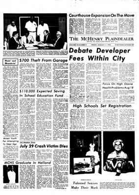 McHenry Plaindealer (McHenry, IL), 11 Aug 1978