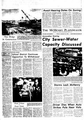 McHenry Plaindealer (McHenry, IL), 18 Aug 1978