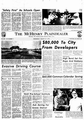 McHenry Plaindealer (McHenry, IL), 23 Aug 1978