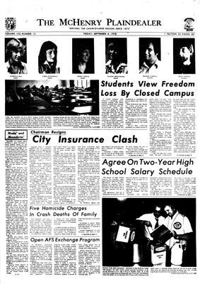 McHenry Plaindealer (McHenry, IL), 8 Sep 1978