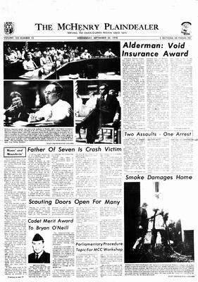 McHenry Plaindealer (McHenry, IL), 20 Sep 1978