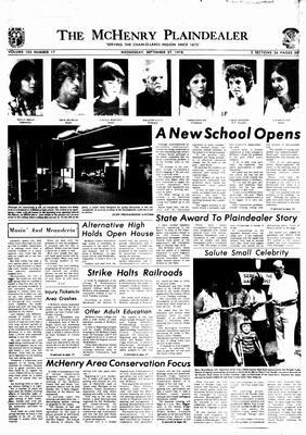 McHenry Plaindealer (McHenry, IL), 27 Sep 1978