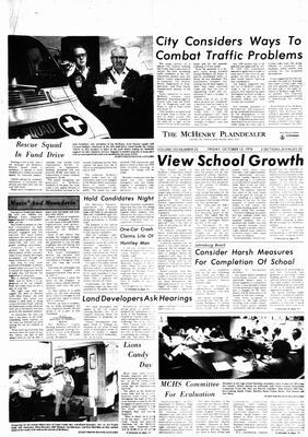 McHenry Plaindealer (McHenry, IL), 13 Oct 1978