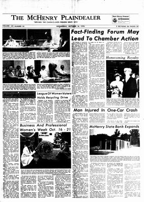 McHenry Plaindealer (McHenry, IL), 18 Oct 1978
