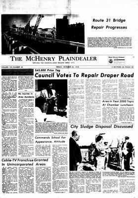 McHenry Plaindealer (McHenry, IL), 20 Oct 1978