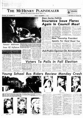 McHenry Plaindealer (McHenry, IL), 3 Nov 1978