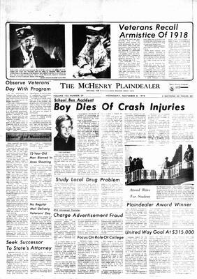 McHenry Plaindealer (McHenry, IL), 8 Nov 1978