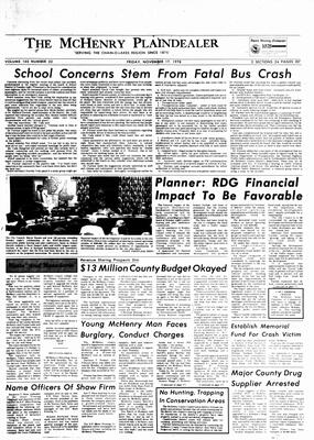 McHenry Plaindealer (McHenry, IL), 17 Nov 1978