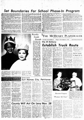 McHenry Plaindealer (McHenry, IL), 24 Nov 1978