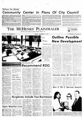 McHenry Plaindealer (McHenry, IL), 8 Dec 1978