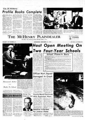 McHenry Plaindealer (McHenry, IL), 27 Dec 1978