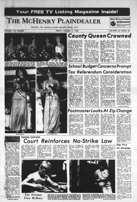 McHenry Plaindealer (McHenry, IL), 1 Aug 1980