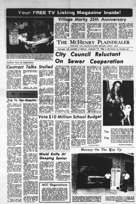 McHenry Plaindealer (McHenry, IL), 15 Aug 1980