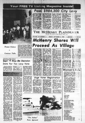 McHenry Plaindealer (McHenry, IL), 5 Sep 1980