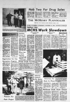 McHenry Plaindealer (McHenry, IL), 24 Sep 1980
