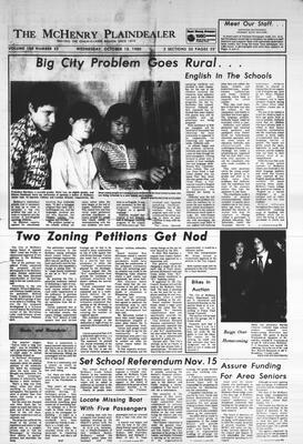 McHenry Plaindealer (McHenry, IL), 15 Oct 1980