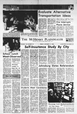 McHenry Plaindealer (McHenry, IL), 17 Oct 1980