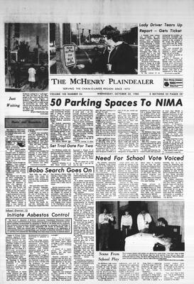 McHenry Plaindealer (McHenry, IL), 22 Oct 1980