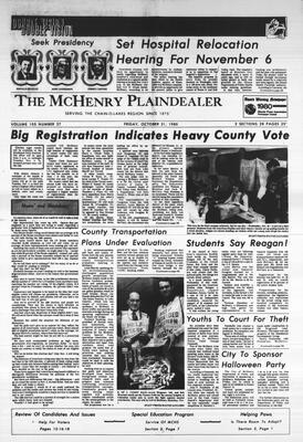 McHenry Plaindealer (McHenry, IL), 31 Oct 1980