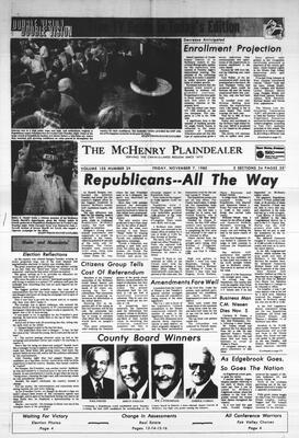 McHenry Plaindealer (McHenry, IL), 7 Nov 1980